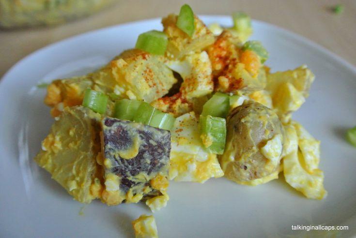 Deviled Egg Potato Salad - Salad #5 | The cook in me!!!! | Pinterest