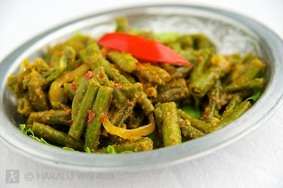Curried Green Bean Salad | Food & Drink | Pinterest