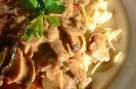 Turkey Marsala with Ravioli This is a great way to use that leftover ...