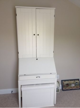 Ikea Hemnes Secretary Desk With Hutch And Bench Seat