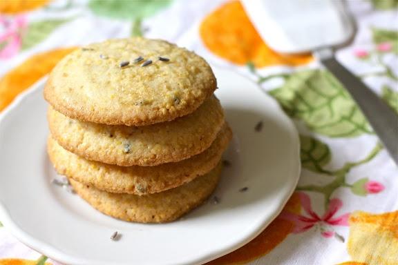 Lemon Lavender Polenta Cookies... theeeeese arrrre wherrrrre it's at!