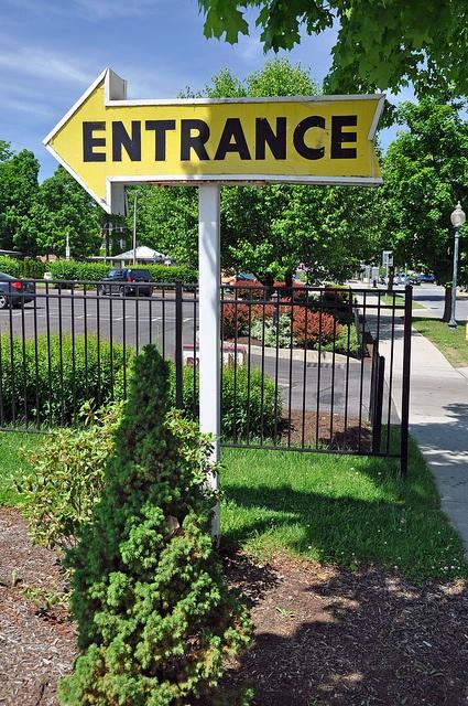 idea for lawn sign