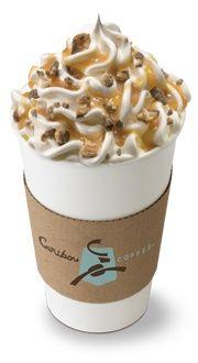 Caribou Coffee Sleeve packaging
