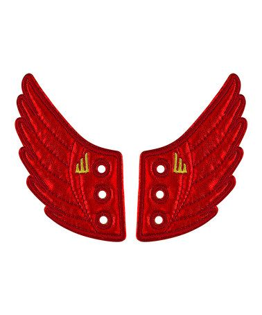 One Pair: Red Foil Moreno by Kids' Shoes: Clearance Sale on #zulilyUK