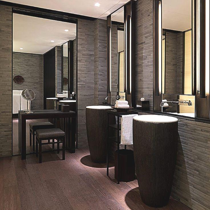Modern Interior Design Luxury Shanghai Hotel Bathroom