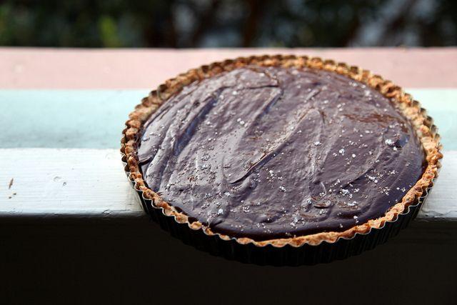 Chocolate Pretzel Tart | Food + Whatnot | Pinterest