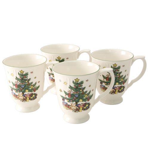 Nikko china dinnerware happy holidays coffee mugs set of 4 64 95