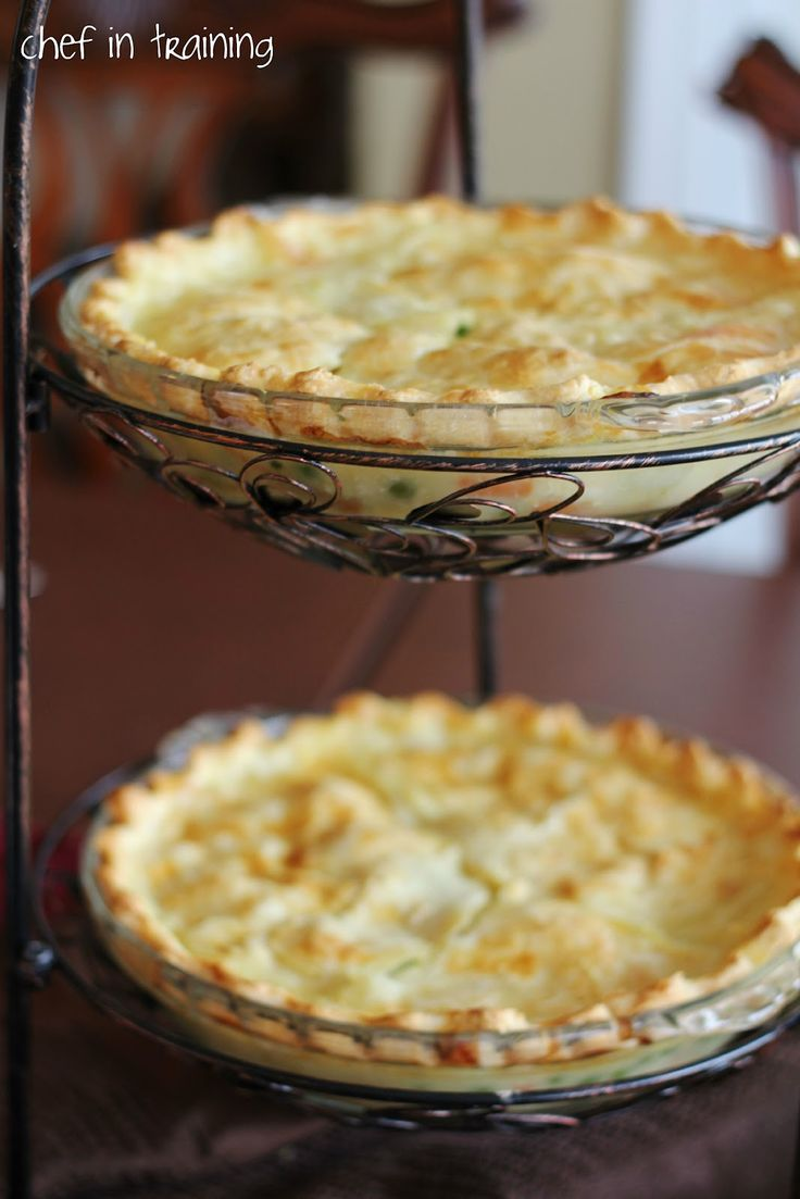 Chicken Pot Pie. I've always wanted to try it. Nikki has convinced me ...