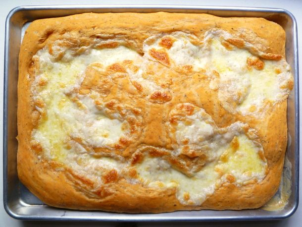 Bread Baking: Soft, Cheesy 'Focaccia' | Recipe