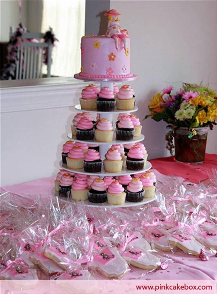 Baby Shower Cupcake Tower Ideas : Baby Shower Cupcake Stand   Baby Shower Cupcake Towers