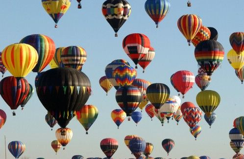 Hot Air Balloons!