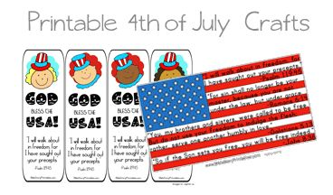 4th of july sunday school craft ideas