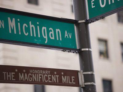 the Magnificent Mile, North Michigan Avenue, Chicago, Illinois