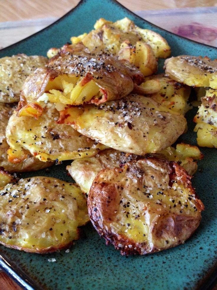Smashed & Roasted Potatoes