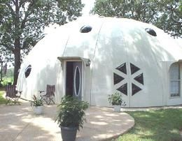 Composite Fiberglass Dome Home