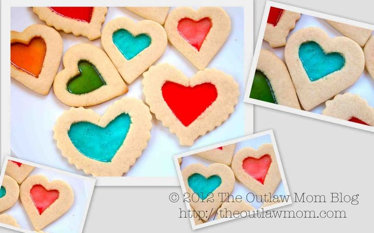 Stained Glass Cookies   Outlaw Mom (TM) Recipes   Pinterest