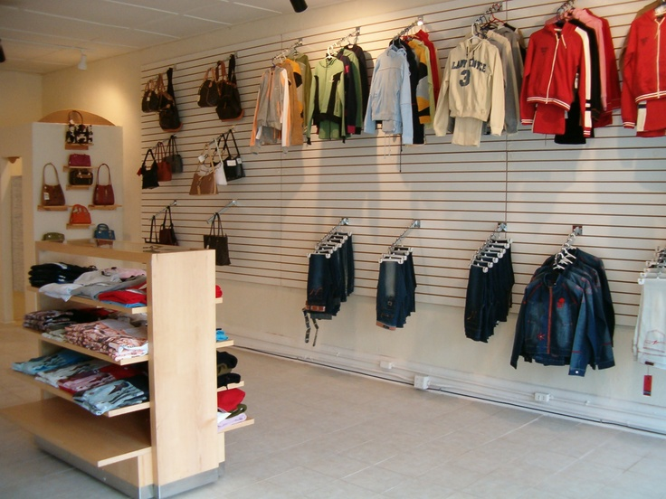 clothing store layout - Google Search
