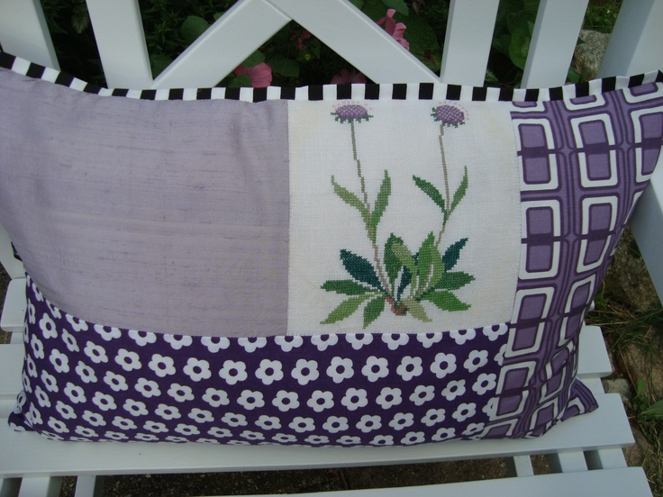 Pillow Case In Lilac Craft Ideas Pinterest