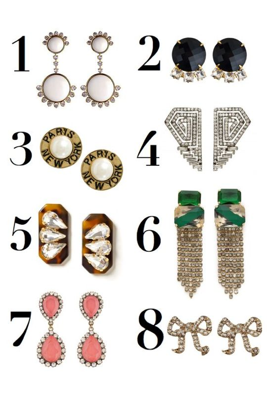 8 Statement Earrings for Fall