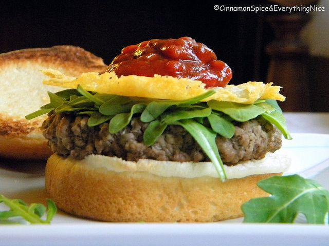 Bobby Flay's Arthur Avenue Burger by CinnamonGirl