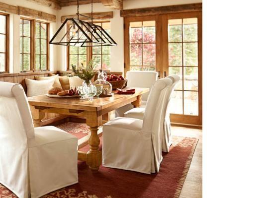 pottery barn dining room dining room pinterest