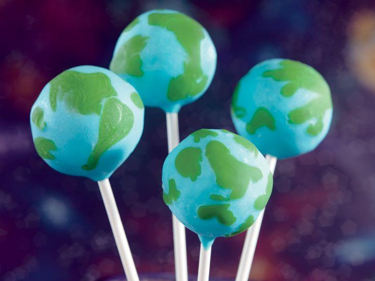 Earth Cake Pops Recipe