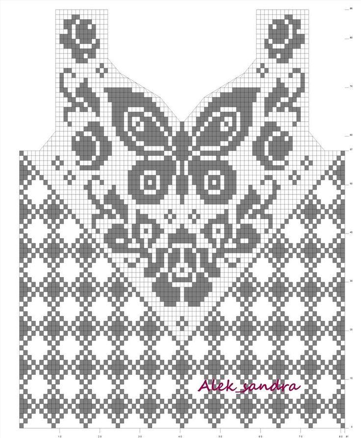 Sent from my BlackBerry  Filet crochet shirt butterfly, bordeleta