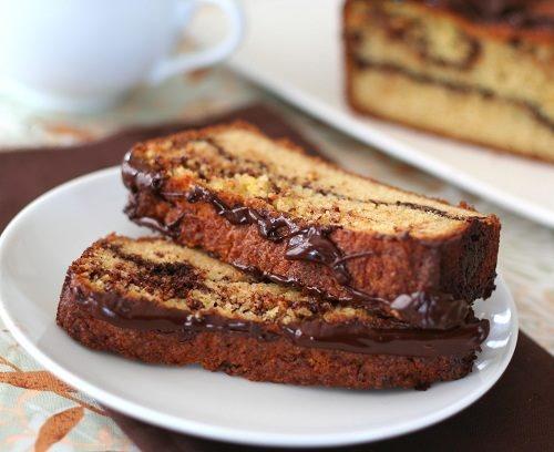 Chocolate Orange Swirl Bread | low carb | Pinterest