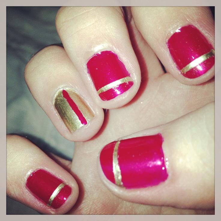 49ers Nails   Are ya