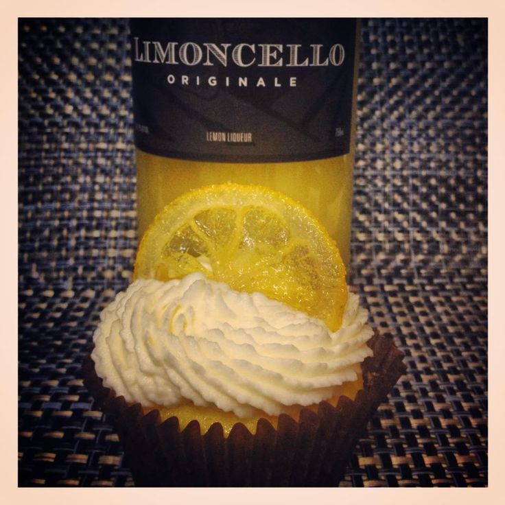 Lemon Drop Cupcake - Meyer lemon cupcake, filled with Limoncello ...