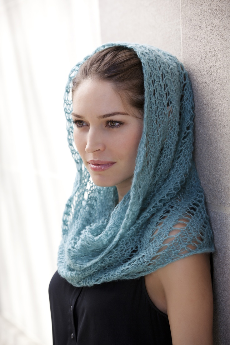 Knitting this in teal blue http://www.ravelry.com/patterns/library/tosca-eyelet-pattern-wimple