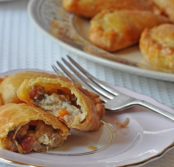 Chicken Empanada With Chorizo And Olives Recipes — Dishmaps