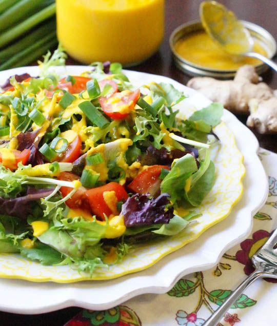 ginger salad dressings