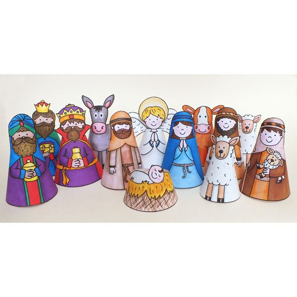 The Lilypad :: PRINTABLES :: My Nativity