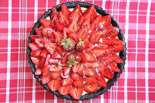 Strawberry Chocolate Tart with Lemon Caramel and The Meals on Wheels ...