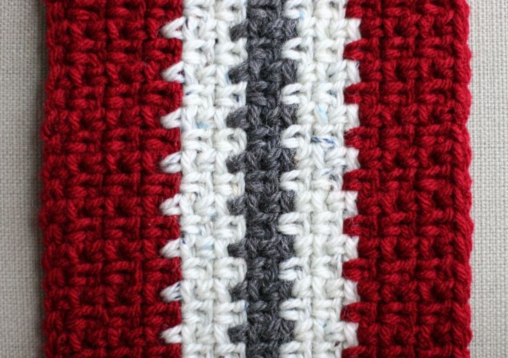 Free Crochet Pattern Striped Scarf : Pin by Kristin Hajny on i want to learn to crochet Pinterest