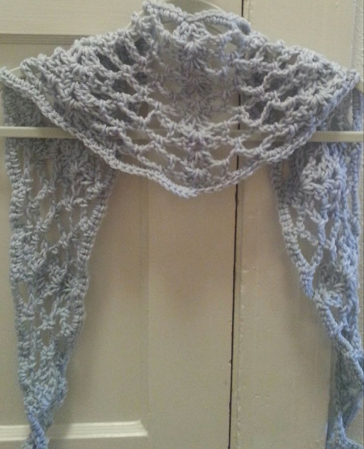 Summer Sprigs Lace Shawl Free Crochet Pattern : Crochet Pattern Instant Download Lace Spring Summer Scarf ...