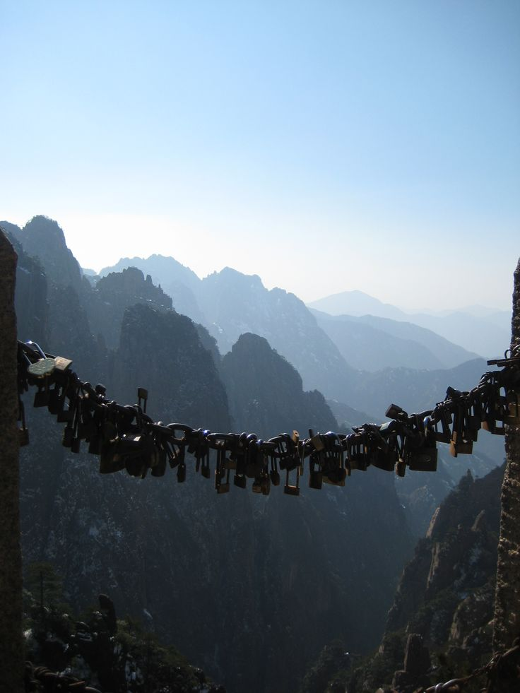 Huangshan Mountains, China. | Living in China ! | Pinterest