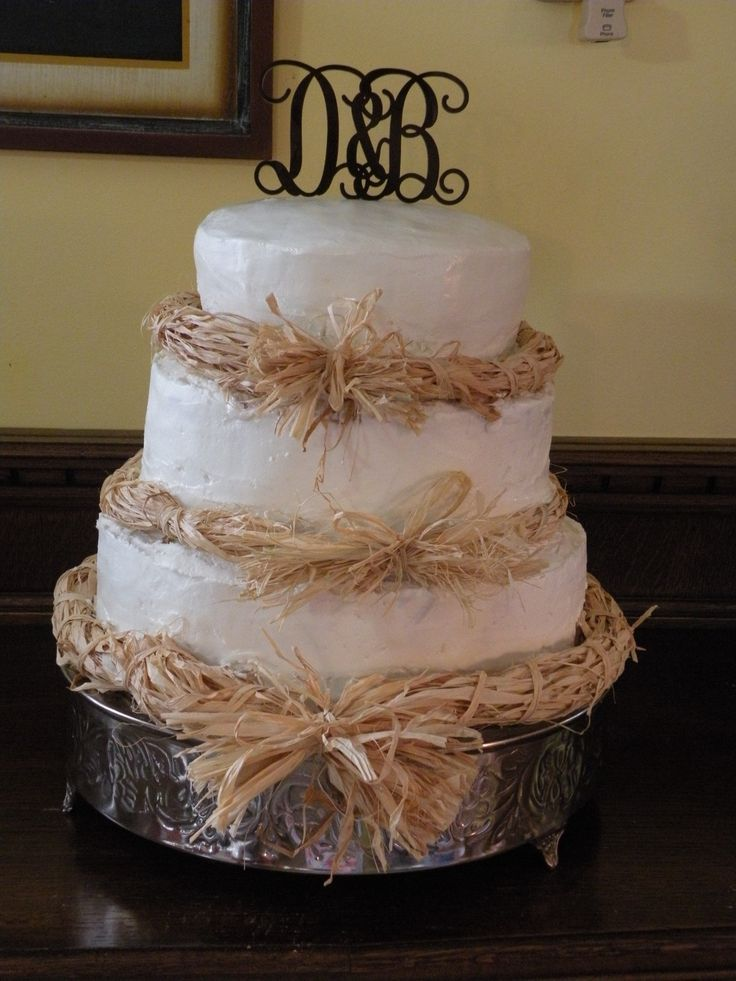 Rustic Wedding Cake How To
