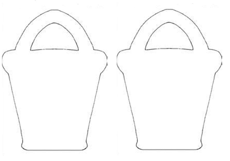 Bucket filler coloring page outline coloring pages for Bucket filler coloring page