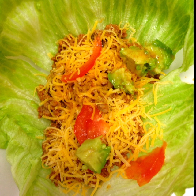 Turkey Taco Lettuce Wraps | General food | Pinterest