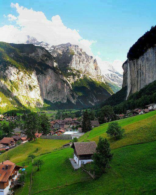 Bernese Alps, Switzerland | travel | Pinterest Bernese Alps, Switzerland