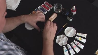 ... To Use Calligraphy Ink (Ink Stick And Grinding Stone) (Calligraphy