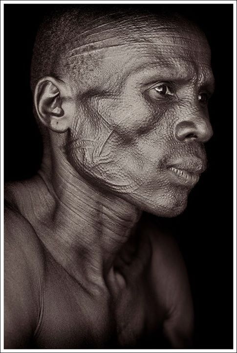 African Facial Scarification - newhairstylesformen2014.com