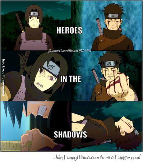 Naruto- Itachi and Shisui  True shinobi heroesShisui Uchiha And Itachi