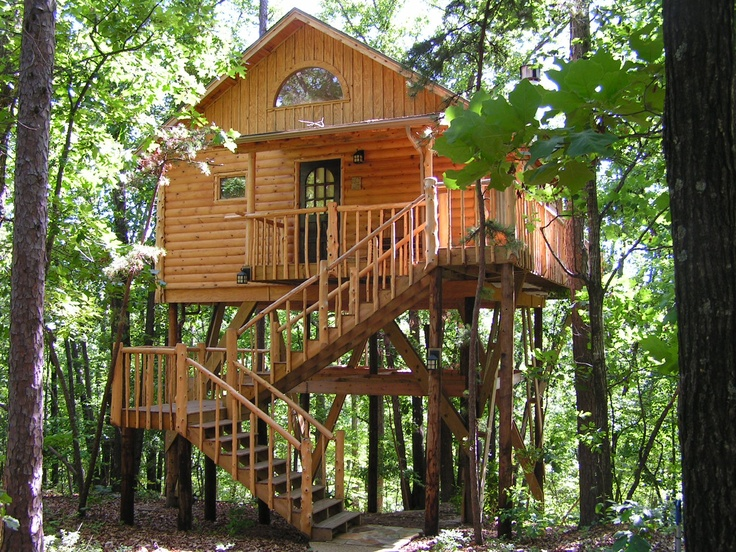 Eureka Springs Tree House Cottages | Dream Vacations ...