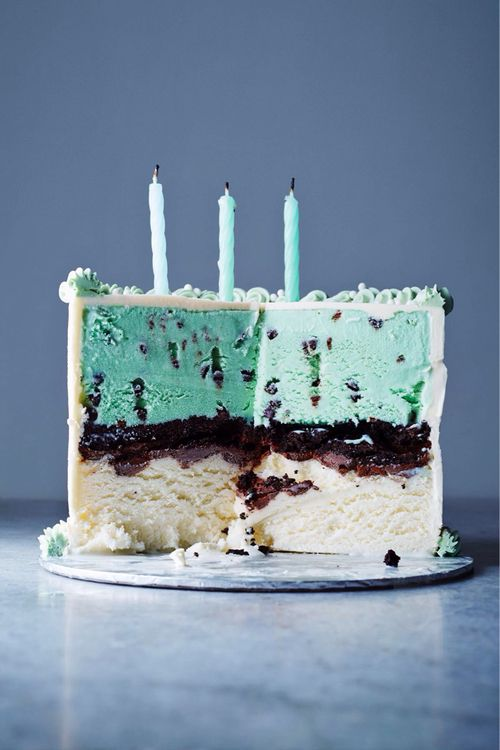 mint chocolate chip ice cream cake | cakes & cupcakes ...