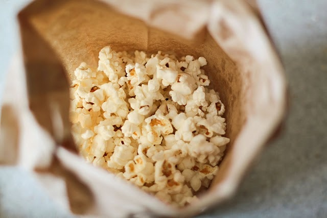 homemade microwave popcorn....must buy some paper bags...this may be a ...