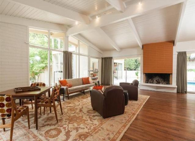 Vaulted ceiling with exposed beams interiors pinterest for Vaulted ceiling with exposed beams