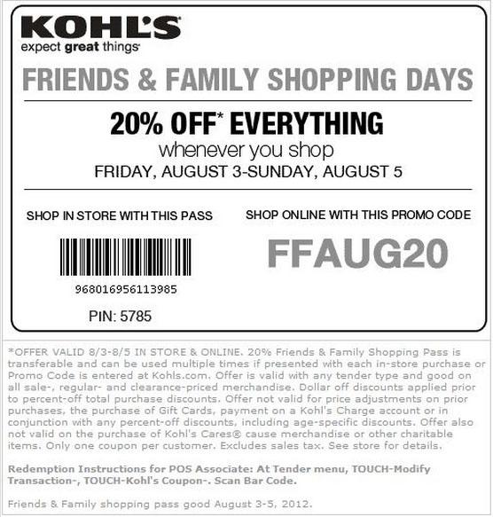Kohls 5 dollars off coupon code